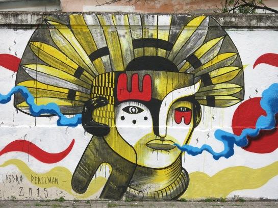 Mural en Salta. Mayo 2015