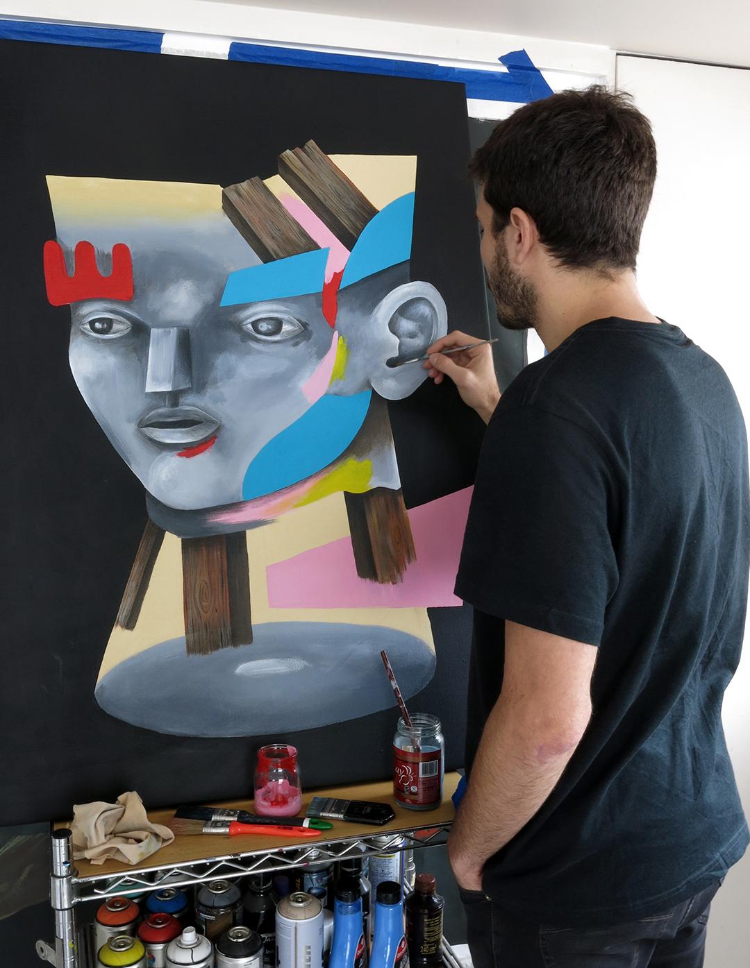 pintando web